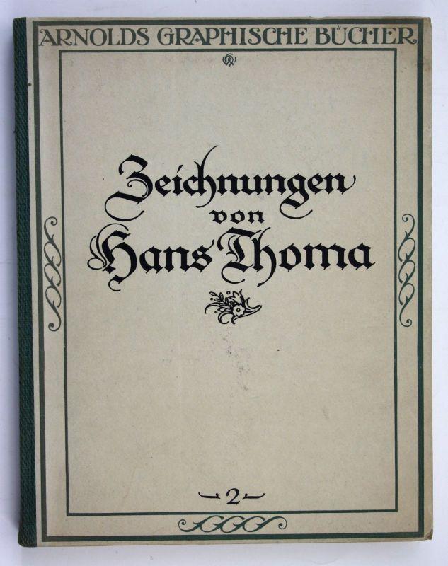1921 Storck Zeichnungen von Hans Thoma - Mit einem Geleitwort des Künstlers