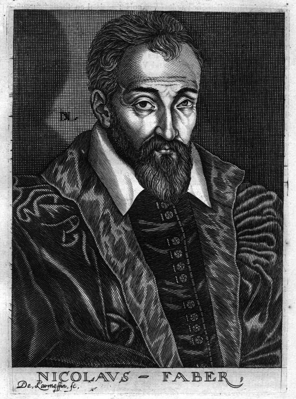 Ca. 1680 Nicolaus Faber Kantor Bayern Kupferstich Portrait engraving