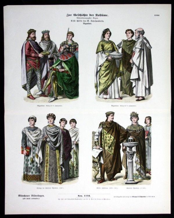 Kostüme - Byzanz - Türkei - Münchener Bilderbogen 0