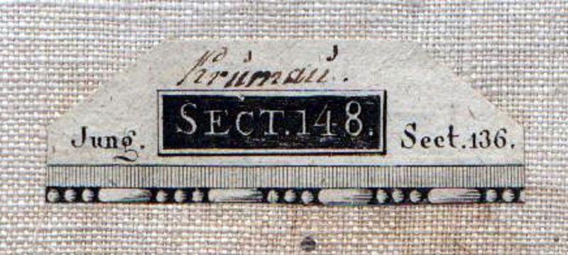 1807 Cesky Krumlov Haslach Frymburk Rohrbach Kupferstich Karte 1