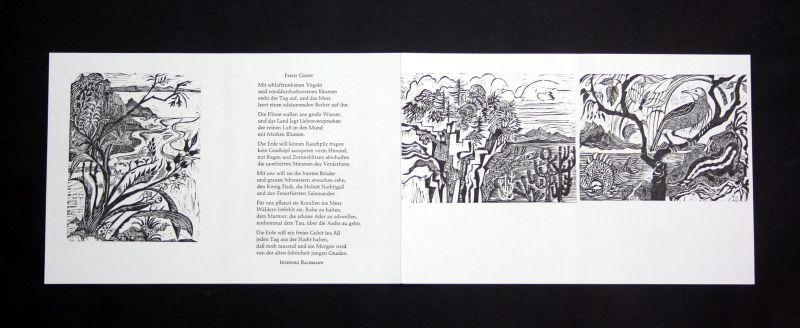 1994 Ruth Schefold Holzstich zu dem Gedicht