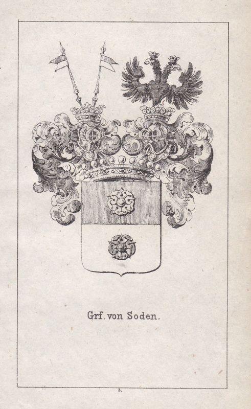 Soden Niedersachsen Franken Franconia Wappen Heraldik coat of arms Adel