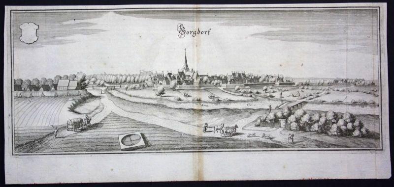 Burgdorf / Region Hannover - Kupferstich Merian Merian: