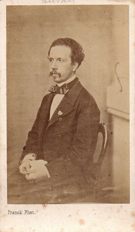 Francisco de Asis König king rey Spain Spanien Espana CDV Foto photo vintage