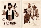 Ludwig Hohlwein Werbung  RTS Double Head Receiver Ernte 23 Zigaretten Tabak 1925
