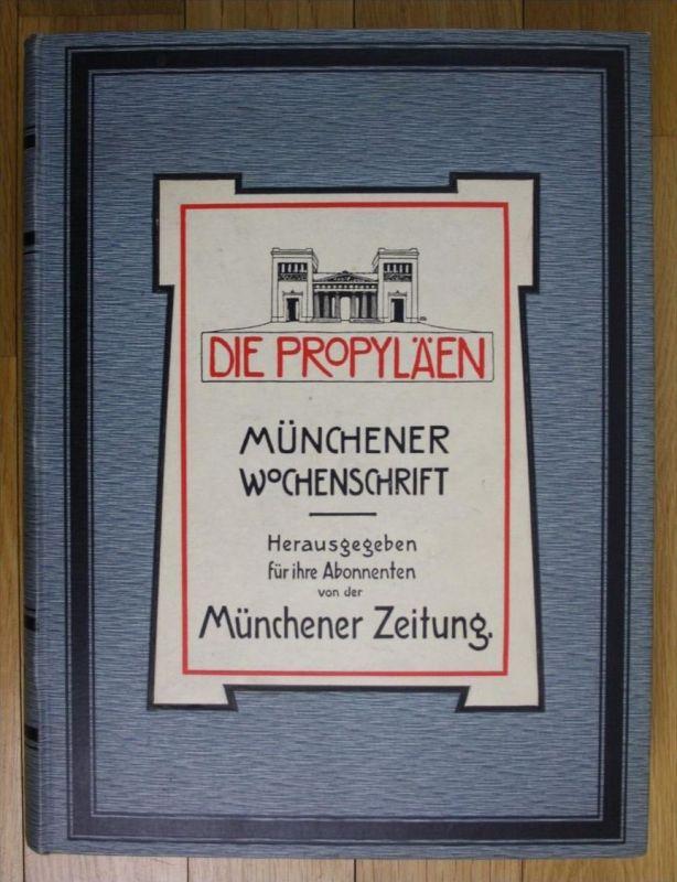 1908 Eduard Engels Münchener Wochenschrift Die Propyläen Zeitschrift