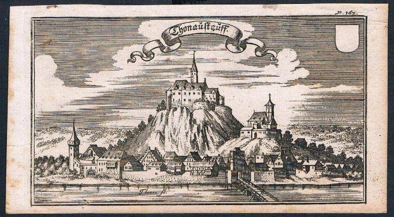 Donaustauf Donau Ertl Kupferstich engraving