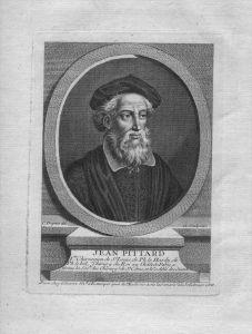Jean Pittard Arzt Chirurg des Königs France gravure Kuperstich Portrait