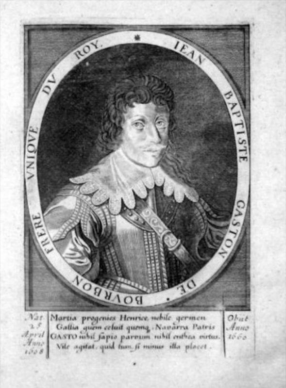 Jean-Baptiste Gaston de Bourbon v Orleans Portrait