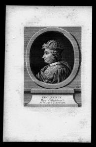 Eduard IV York König von England Great Britain Kupferstich Portrait