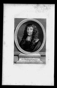 Jean Regnault de Segrais Dichter Frankreich France Kupferstich Portrait
