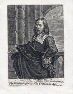 Jan van den Hecke Barock Baroque painter Maler Portrait Kupferstich