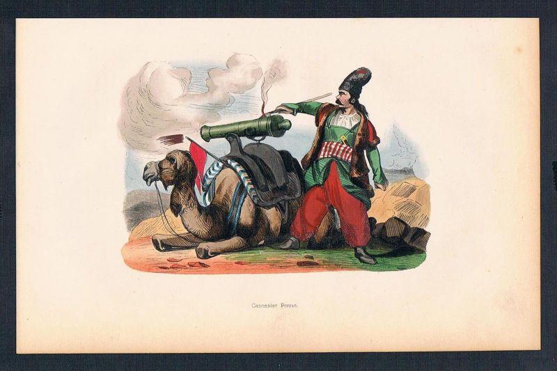 Persien Iran Asien Asia costumes Trachten antique print