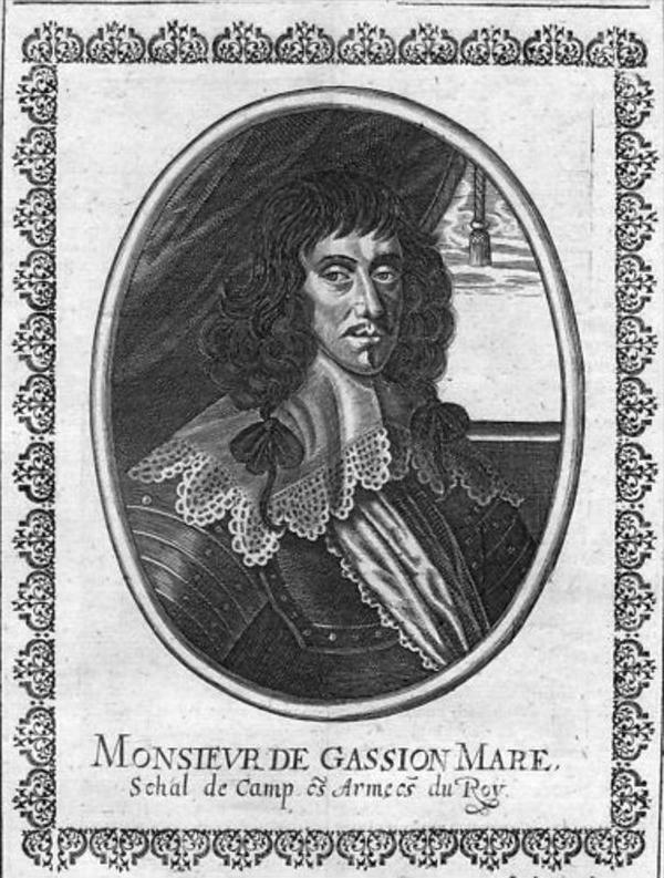 Jean de Gassion Marechal France Portrait Merian