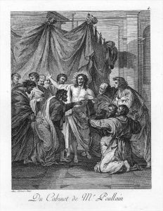 Alessandro Turchi Jesus painting engraving