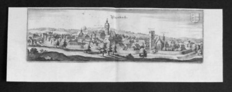 Peuerbach Grieskirchen Kupferstich Merian