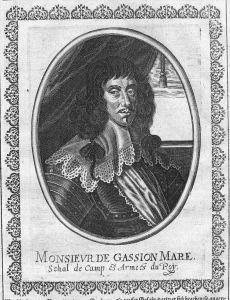 Jean de Gassion military commander Kupferstich Portrait engraving