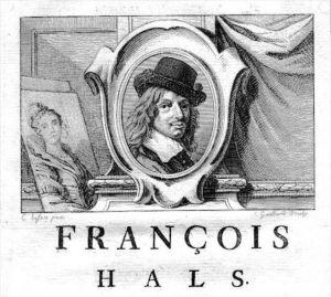 Frans Hals painter Maler Portrait Kupferstich gravure engraving