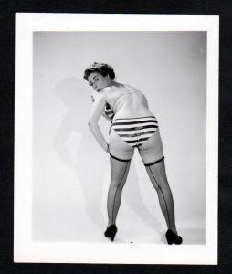 Unterwäsche lingerie Erotik vintage Dessous Bikini pin up Foto photo