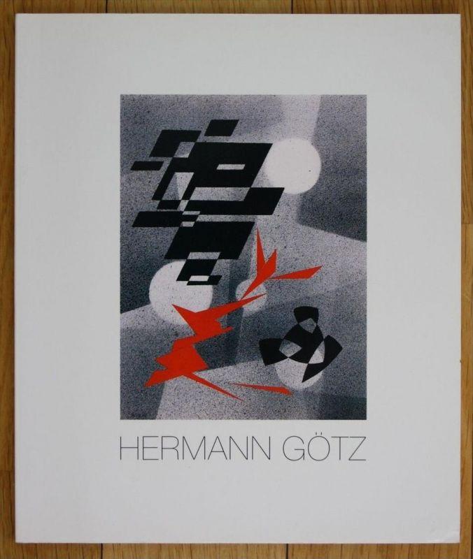 Hermann Götz 1901 - 1975 Lyrische Abstraktionen Ausstellung Katalog