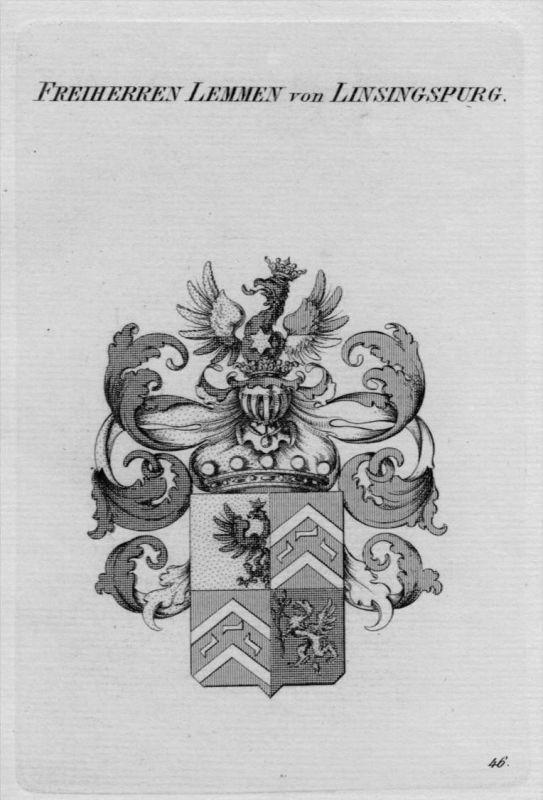 Linsingspurg Wappen Adel coat of arms heraldry Heraldik crest
