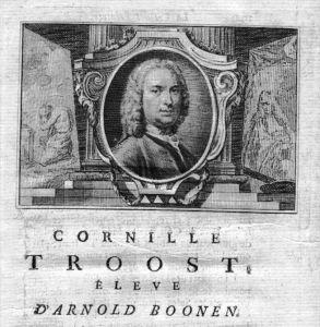 Cornelis Troost painter Maler Portrait Kupferstich gravure engraving
