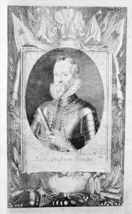 Pedro Henriquez de Acevedo y Toledo Portrait Kupferstich engraving