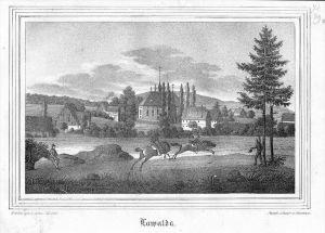 Lawalde Landkreis Görlitz Original Lithographie litho lithograph