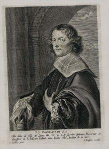 Cornelis de Bie painter Maler Holland Portrait Kupferstich engraving