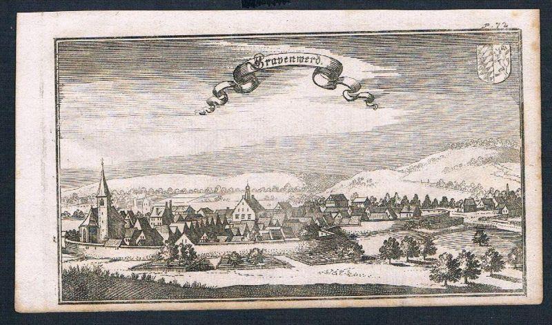 Grafenwöhr Ertl Kupferstich engraving