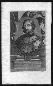 Philipp IV König von Spanien Filippo Neapel Sizilien Kupferstich Portrait