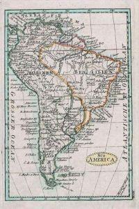 South America Brasilia Map Schindelmayer