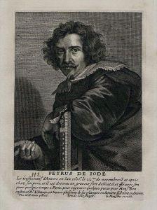 Pieter de Jode II painter engraver Kupferstich Portrait engraving