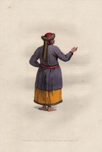 Tatarei tartary Tataren Tatars costumes Trachten Kupferstich engraving
