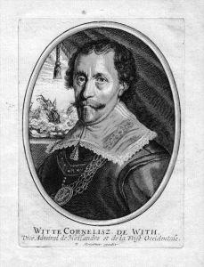 Witte de With Admiral Portrait Kupferstich engraving