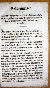 Landwehr Regiment München Bestimmungen Beiträge Quartal Regimentsgeschichte
