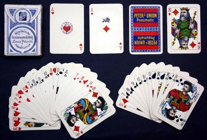 Spielkarten / Kartenspiel -- 32/32 Blatt -- jeu des cartes / playing cards