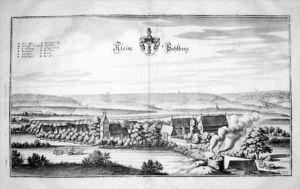 Vahlberg Wolfenbüttel Niedersachsen Kupfer Merian
