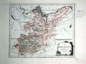 Brandenburg Mecklenburg Sachsen - Reilly Karte map