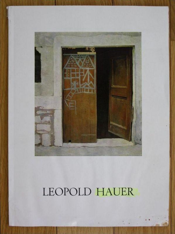 Leopold Hauer 60 Jahre Schaffen Galerie oberes Belvedere