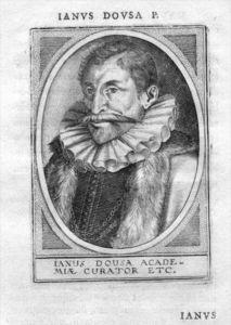 Johan van der Does Leiden Holland Portrait Kupferstich gravure