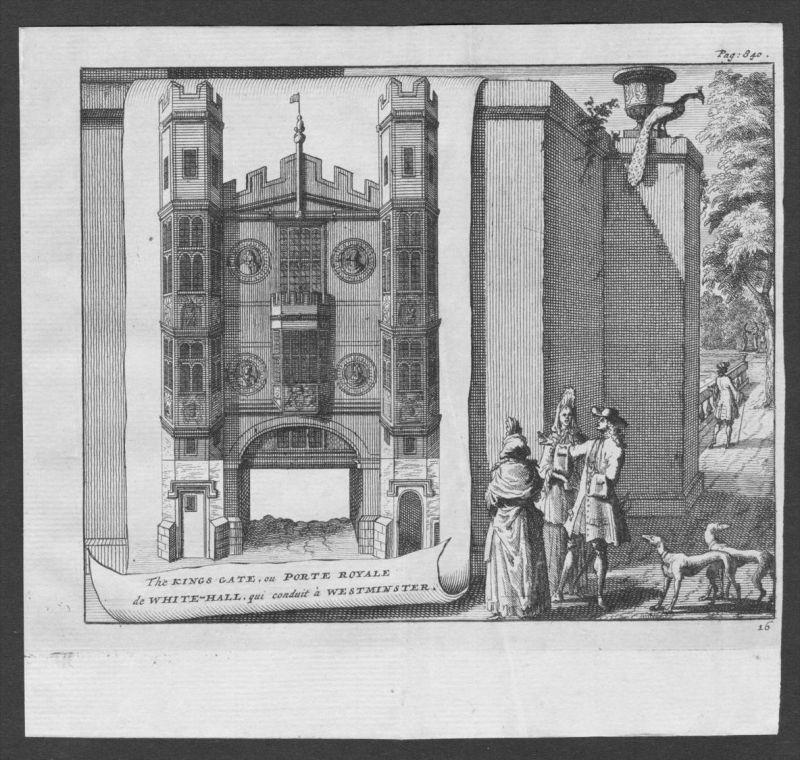 - Palace of Westminster Whitehall England United Kingdom engraving view