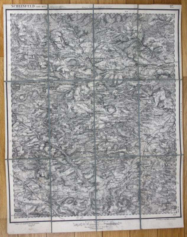 Schlüsselfeld Burghaslach Uehlfeld Gerhardshofen Karte