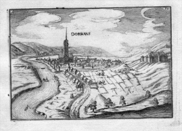 - Dormans Marne Champagne-Ardenne Gravure Estampe