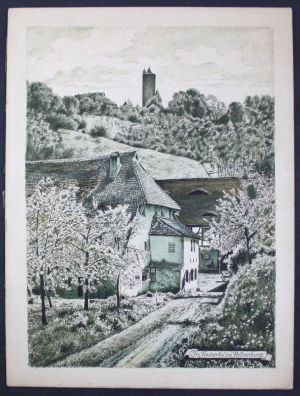 Hermann Tunica - Original Ölgemälde Gemälde Windmühle Landschaft