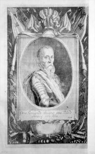 Don Fernando Alvarez de Toledo Portrait Kupferstich engraving gravure