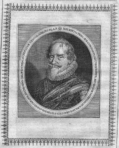 Moritz v Oranien Nassau-Dillenburg Merian Portrait Maurits Oranje gravure