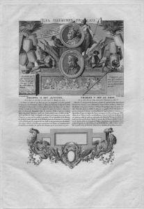 Philippe II King of France Charles V Kupferstich engraving gravure portrait