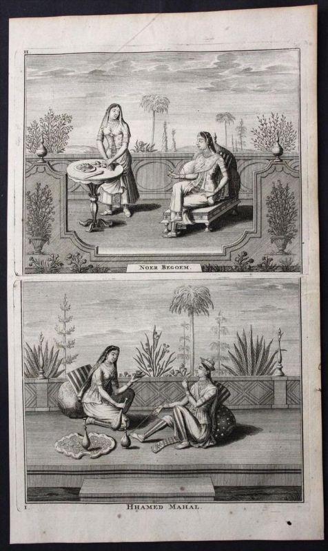 Surat India Indien hindu gods deities Asia Portrait engraving Valentijn