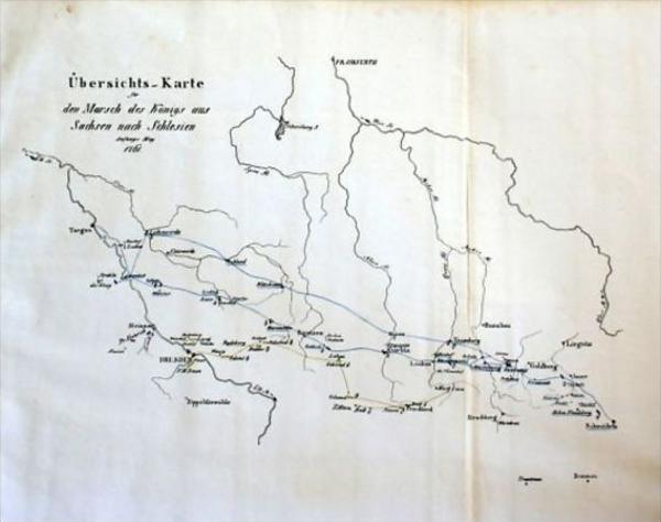Polen Schlesien Karte.Sachsen Schlesien Militär Karte Map Gravure Poland Polen Saxonia
